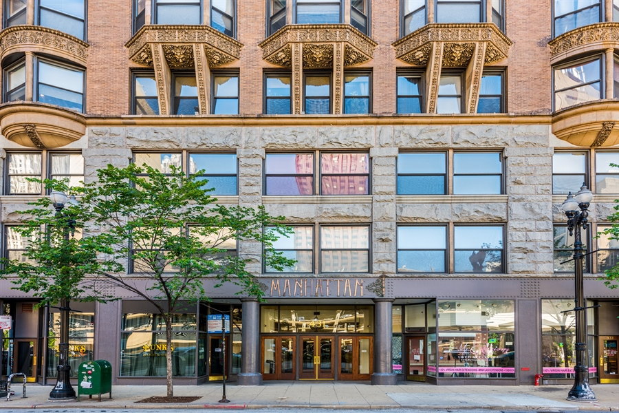 Real Estate Photography - 431 S Dearborn, 807, Chicago, IL, 60605 - Front View