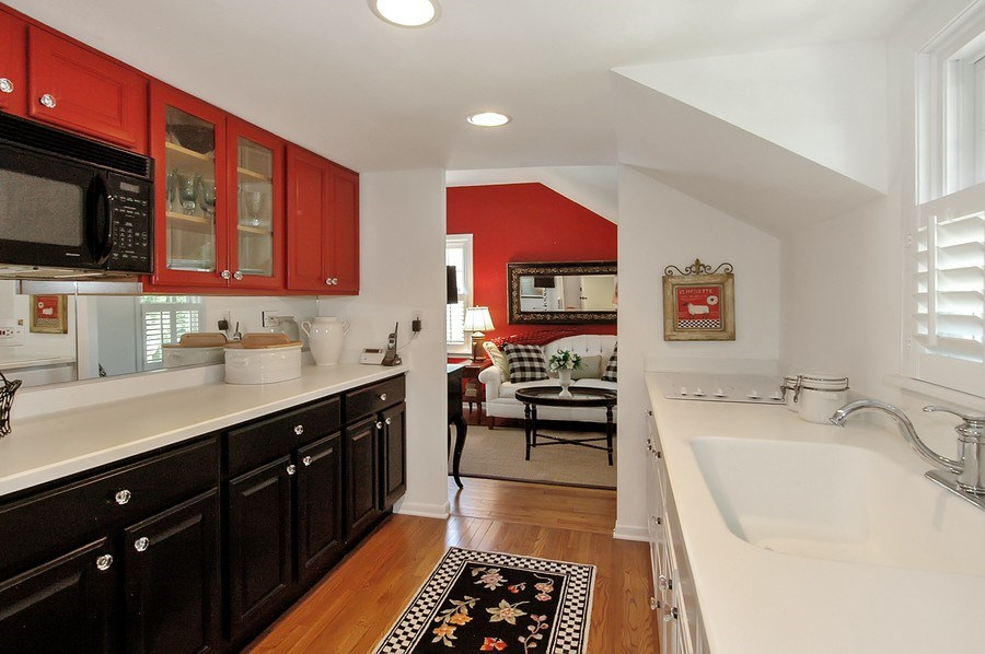 Real Estate Photography - 209 Kelsey Rd, Barrington, IL, 60010 - Apartment 2nd Kitchen