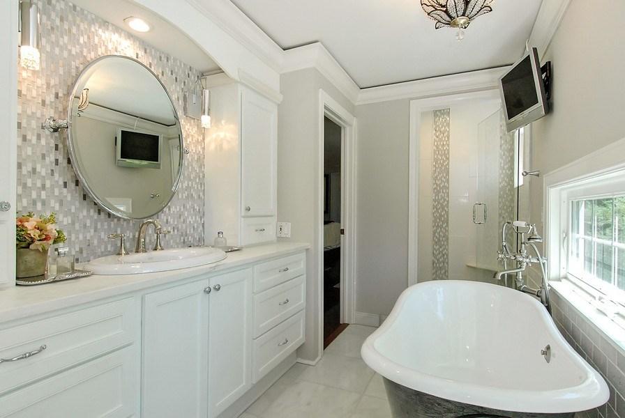Real Estate Photography - 209 Kelsey Rd, Barrington, IL, 60010 - Master Bathroom