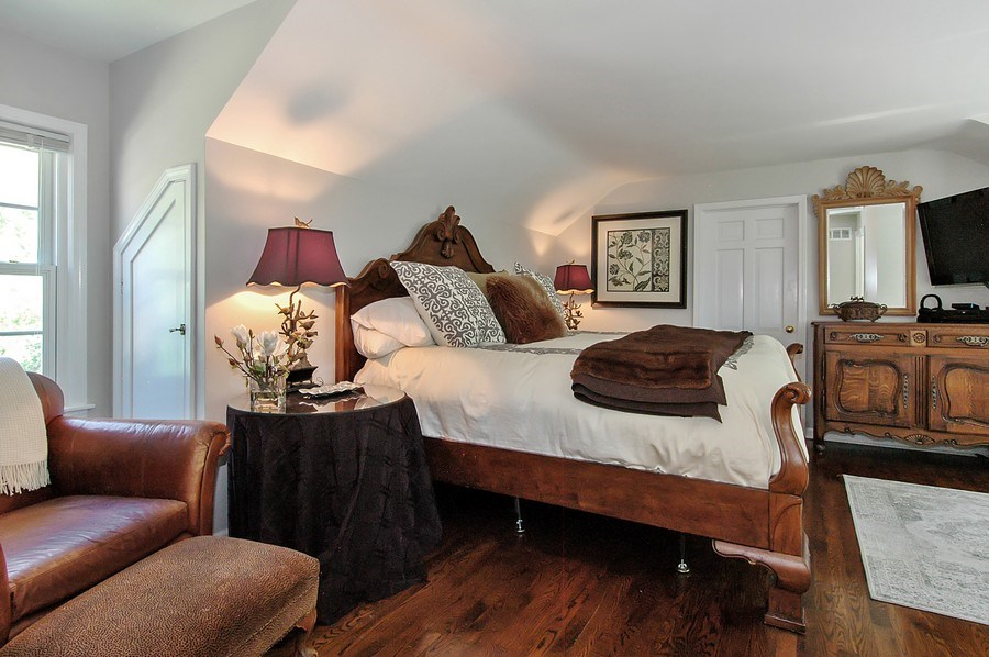 Real Estate Photography - 209 Kelsey Rd, Barrington, IL, 60010 - Master Bedroom