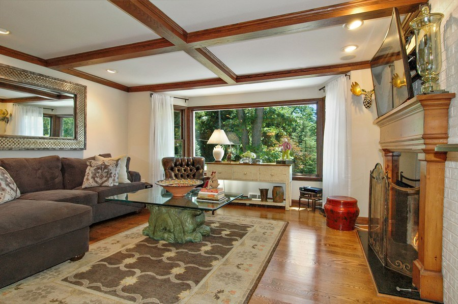 Real Estate Photography - 209 Kelsey Rd, Barrington, IL, 60010 - Family Room