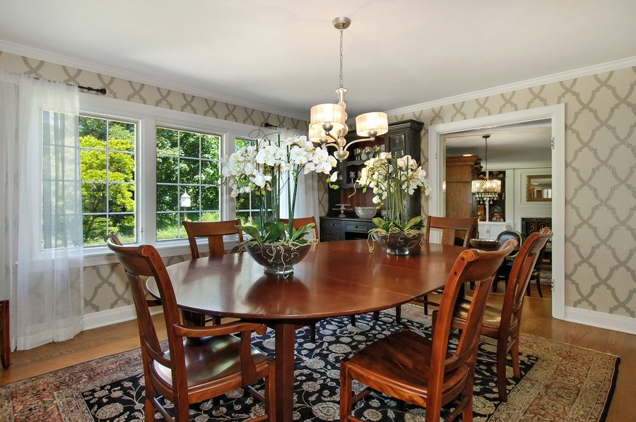 Real Estate Photography - 209 Kelsey Rd, Barrington, IL, 60010 - Dining Room