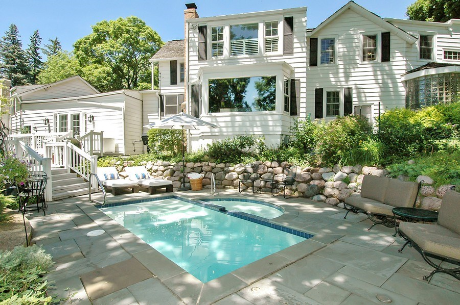Real Estate Photography - 209 Kelsey Rd, Barrington, IL, 60010 - Pool