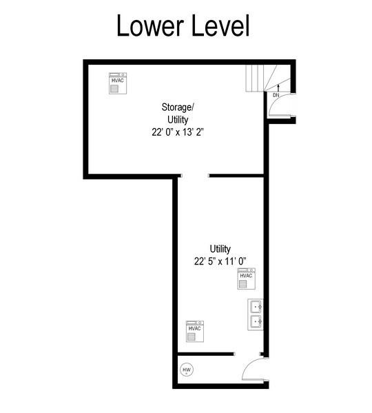 Real Estate Photography - 209 Kelsey Rd, Barrington, IL, 60010 - Floor Plan