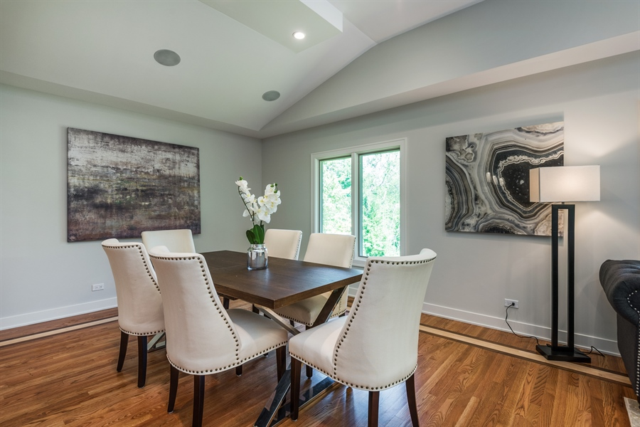 Real Estate Photography - 49 Park Ln, Golf, IL, 60029 - Dining Room