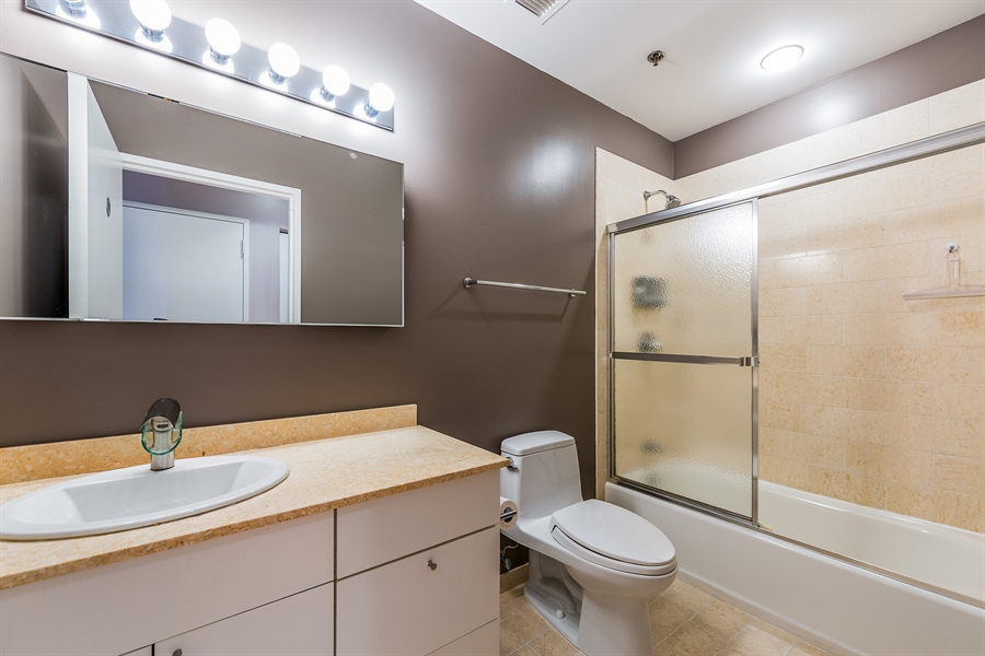 Real Estate Photography - 510 W Erie, Unit 807, Chicago, IL, 60654 - Bathroom