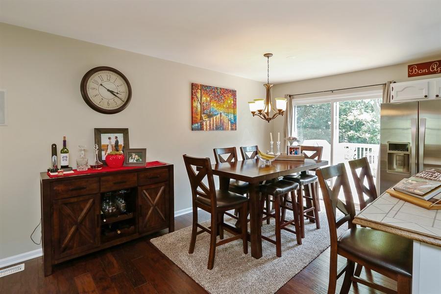 Real Estate Photography - 20745 W Genoa Ave, Lake Villa, IL, 60046 - Dining Room
