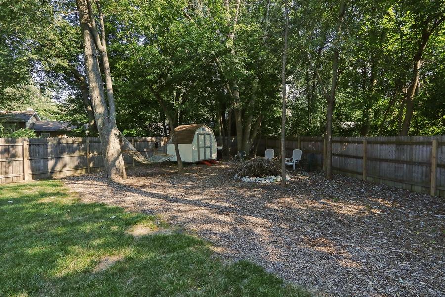 Real Estate Photography - 20745 W Genoa Ave, Lake Villa, IL, 60046 - Back Yard