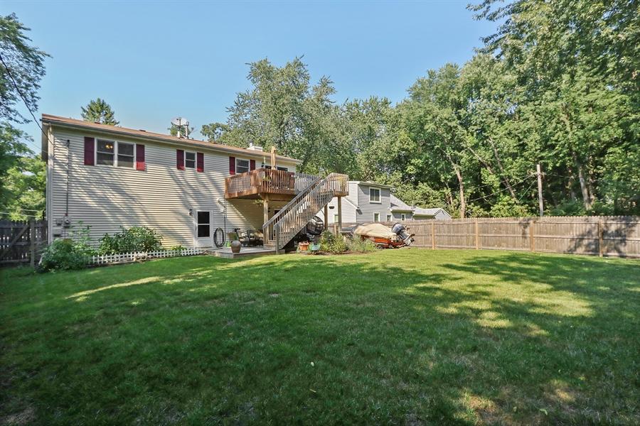 Real Estate Photography - 20745 W Genoa Ave, Lake Villa, IL, 60046 - Rear View