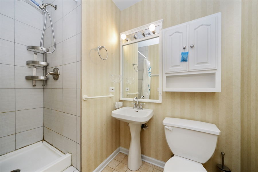 Real Estate Photography - 2614 N Clybourn, 408, Chicago, IL, 60614 - Bathroom