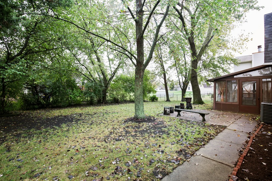 Real Estate Photography - 1137 Downing, Hoffman Estates, IL, 60192 - Back Yard