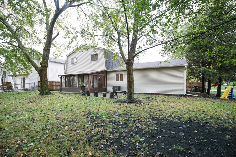 Real Estate Photography - 1137 Downing, Hoffman Estates, IL, 60192 - Side View