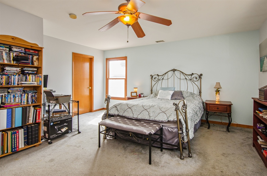 Real Estate Photography - 729 Warren, Palatine, IL, 60074 - Master Bedroom