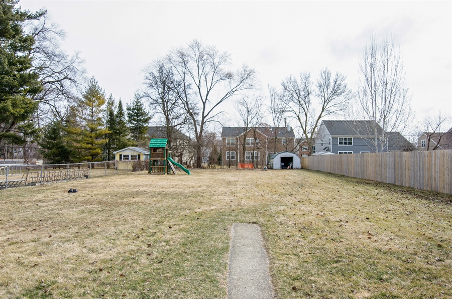 Real Estate Photography - 729 Warren, Palatine, IL, 60074 - Back Yard