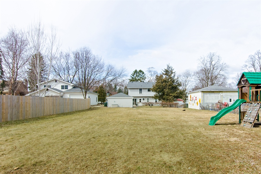 Real Estate Photography - 729 Warren, Palatine, IL, 60074 - Rear View