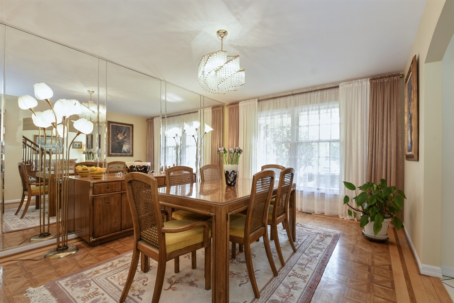 Real Estate Photography - 1910 Landwehr, Northbrook, IL, 60062 - Dining Room