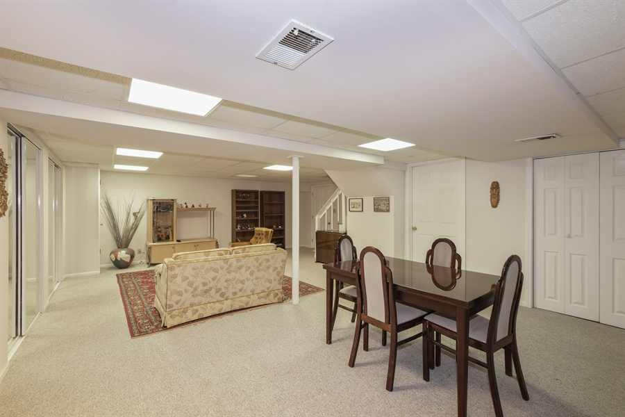 Real Estate Photography - 1910 Landwehr, Northbrook, IL, 60062 - Recreation Room