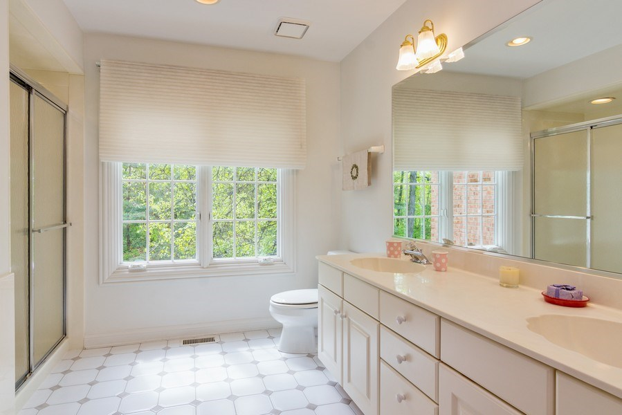Real Estate Photography - 26709 N Countryside Lake Dr, Mundelein, IL, 60060 - 3rd Bathroom