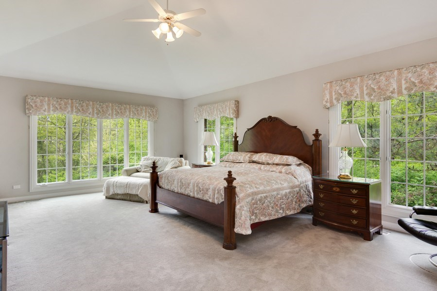 Real Estate Photography - 26709 N Countryside Lake Dr, Mundelein, IL, 60060 - Master Bedroom