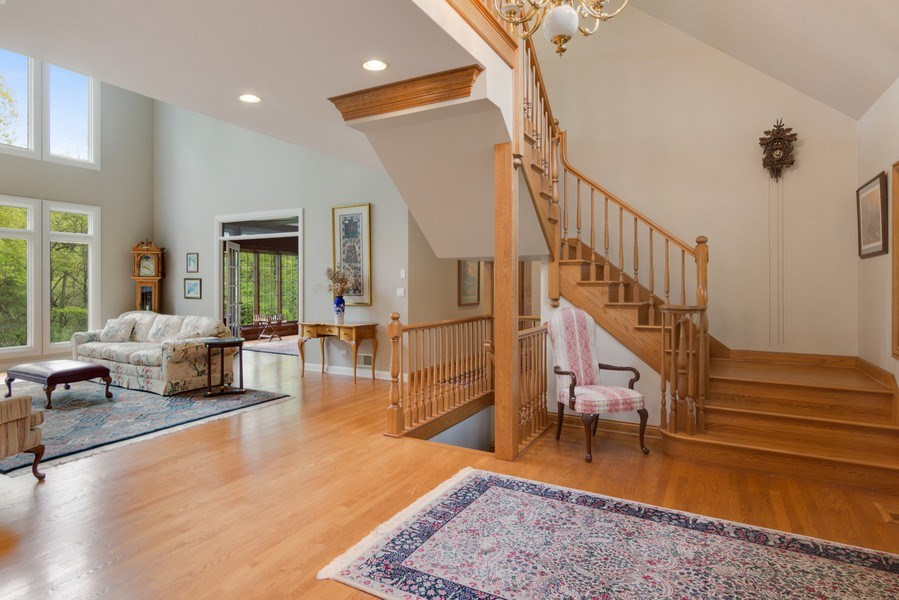 Real Estate Photography - 26709 N Countryside Lake Dr, Mundelein, IL, 60060 - Foyer/Living Room