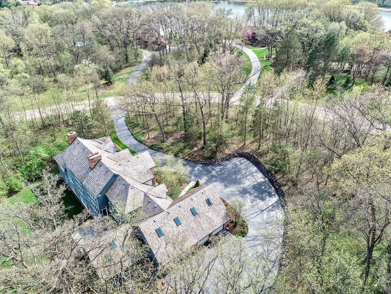 Real Estate Photography - 26709 N Countryside Lake Dr, Mundelein, IL, 60060 - Aerial View