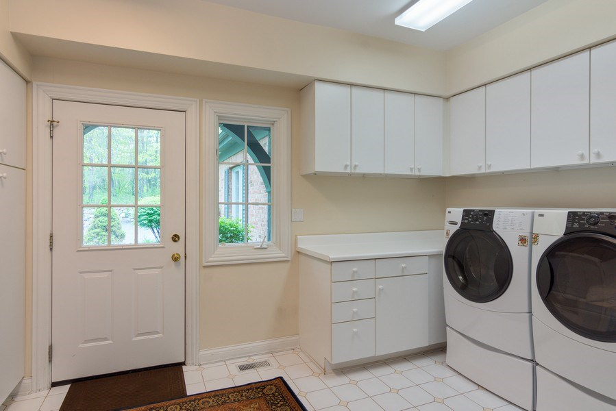 Real Estate Photography - 26709 N Countryside Lake Dr, Mundelein, IL, 60060 - Mudroom