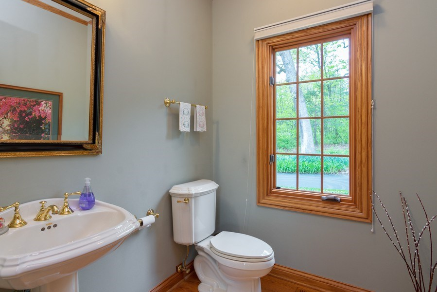 Real Estate Photography - 26709 N Countryside Lake Dr, Mundelein, IL, 60060 - Powder Room