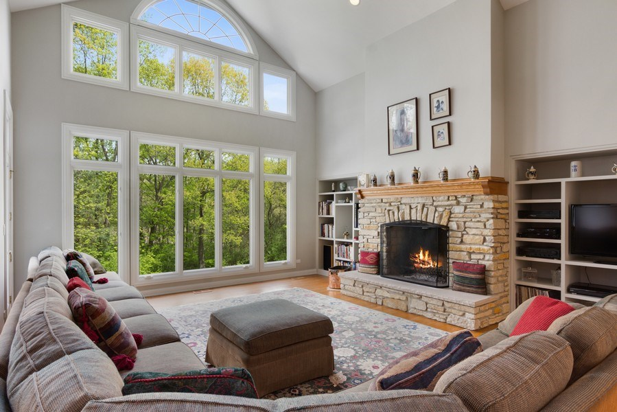 Real Estate Photography - 26709 N Countryside Lake Dr, Mundelein, IL, 60060 - Family Room