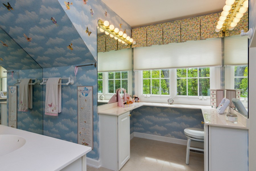 Real Estate Photography - 26709 N Countryside Lake Dr, Mundelein, IL, 60060 - 2nd Bathroom
