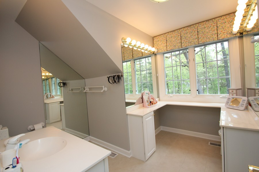 Real Estate Photography - 26709 N Countryside Lake Dr, Mundelein, IL, 60060 - Bathroom 2- Princess Suite