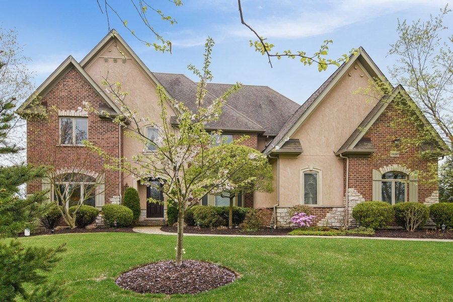 Real Estate Photography - 22381 N. Prairie Lane, Kildeer, IL, 60047 - Front View