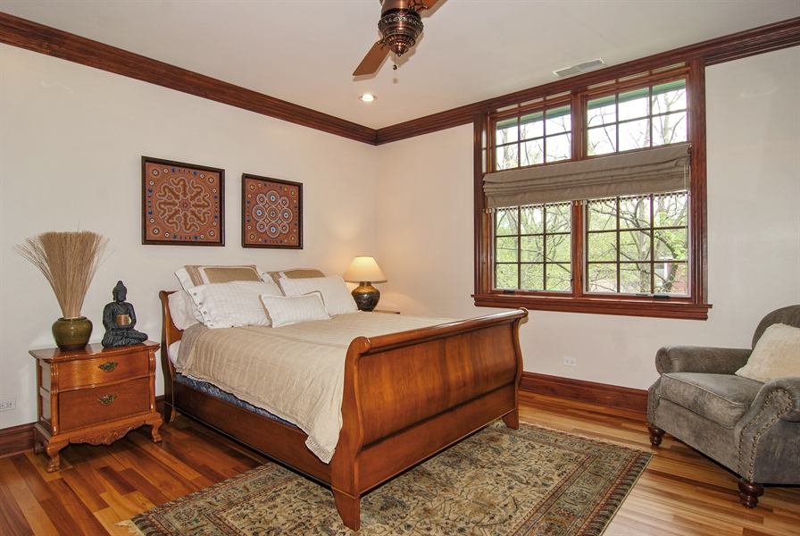 Real Estate Photography - 807 Forest Ave, River Forest, IL, 60305 - 4th Bedroom