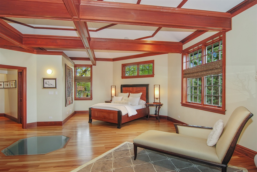 Real Estate Photography - 807 Forest Ave, River Forest, IL, 60305 - Master Bedroom