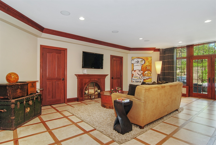 Real Estate Photography - 807 Forest Ave, River Forest, IL, 60305 - Recreational Room