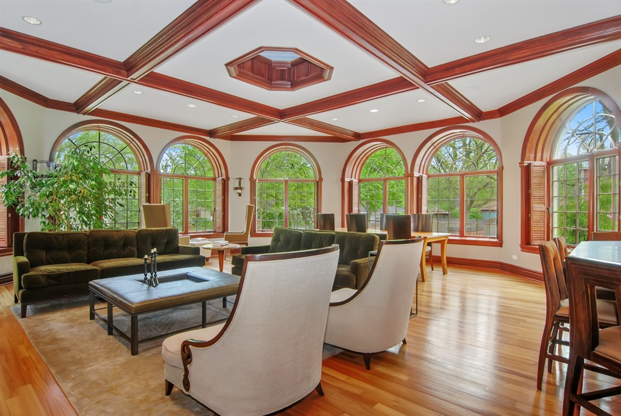 Real Estate Photography - 807 Forest Ave, River Forest, IL, 60305 - Family Room