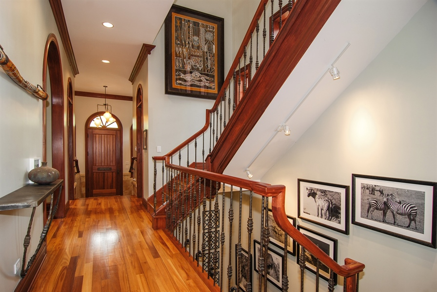 Real Estate Photography - 807 Forest Ave, River Forest, IL, 60305 - Staircase
