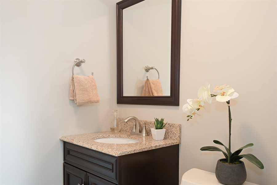 Real Estate Photography - 1635 We Go Trl, Deerfield, IL, 60015 - Powder Room
