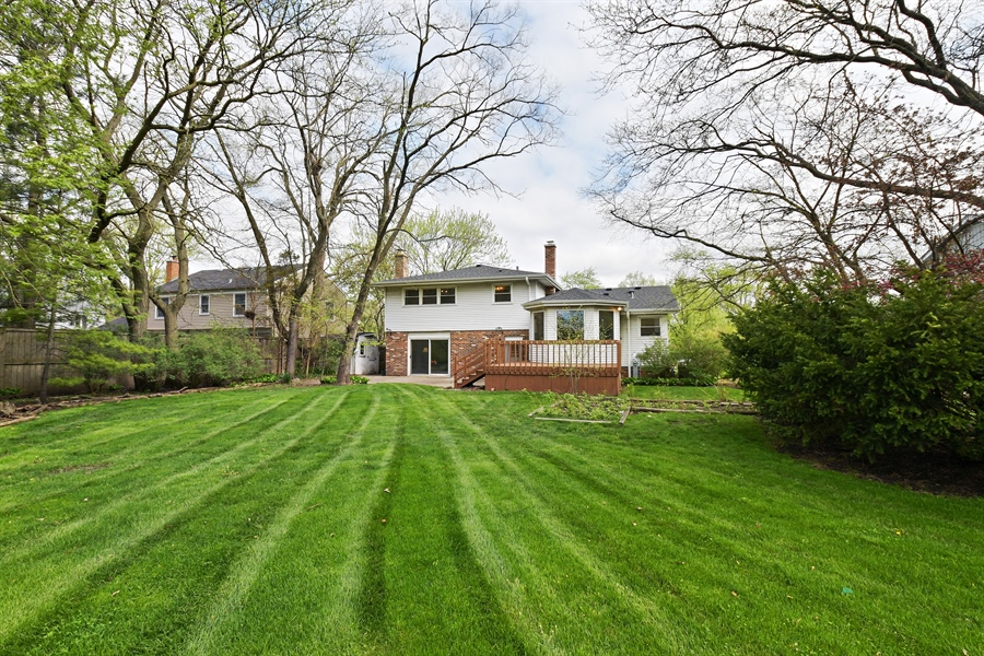 Real Estate Photography - 1635 We Go Trl, Deerfield, IL, 60015 - Back Yard