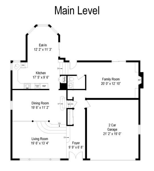Real Estate Photography - 1635 We Go Trl, Deerfield, IL, 60015 - Floor Plan