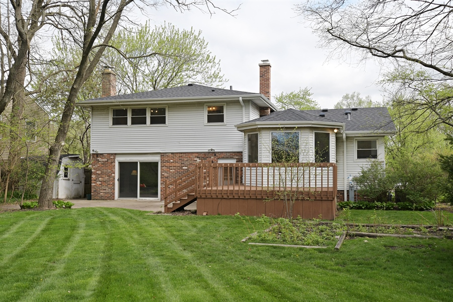 Real Estate Photography - 1635 We Go Trl, Deerfield, IL, 60015 - Rear View