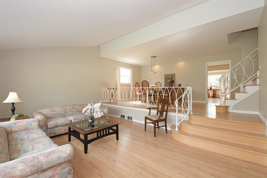 Real Estate Photography - 1635 We Go Trl, Deerfield, IL, 60015 - Living Room / Dining Room