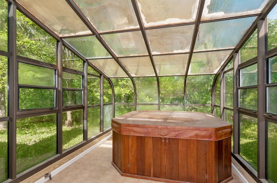 Real Estate Photography - 29W631 Schick, Bartlett, IL, 60103 - Sauna