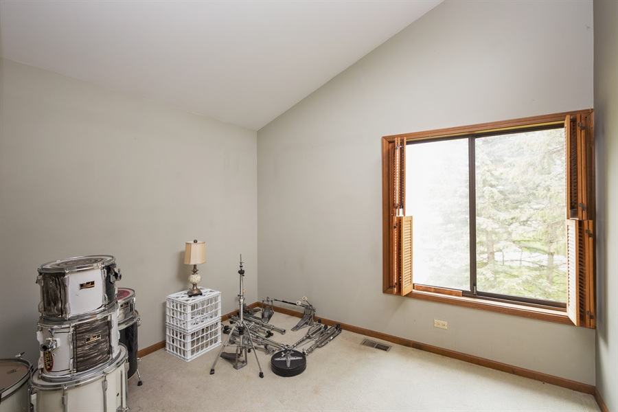 Real Estate Photography - 0S487 East Street, Winfield, IL, 60190 - 2nd Bedroom