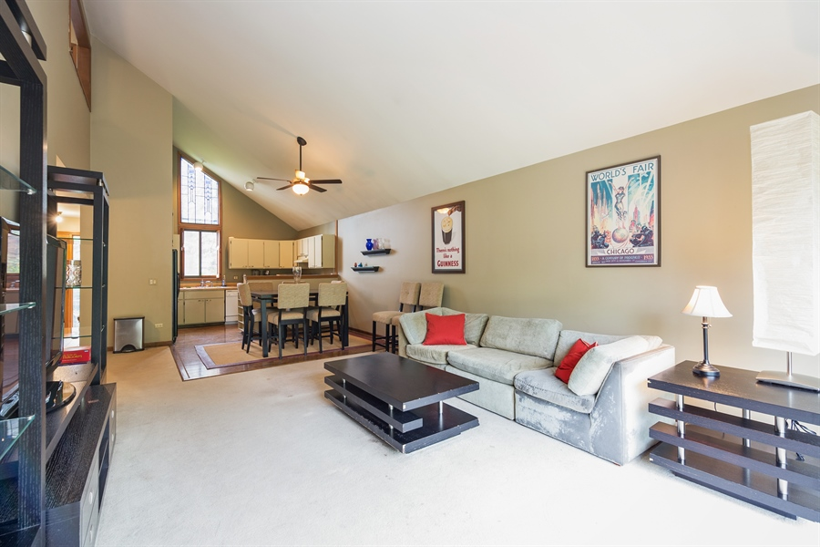 Real Estate Photography - 0S487 East Street, Winfield, IL, 60190 - Living Room