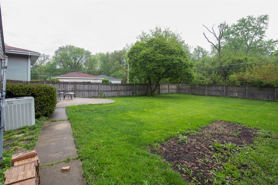 Real Estate Photography - 0S487 East Street, Winfield, IL, 60190 - Back Yard