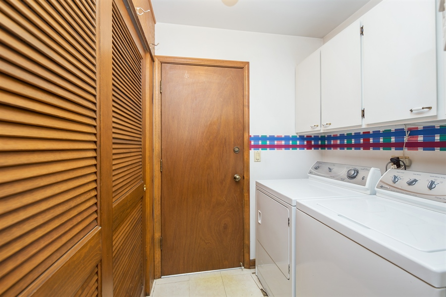 Real Estate Photography - 0S487 East Street, Winfield, IL, 60190 - Laundry Room