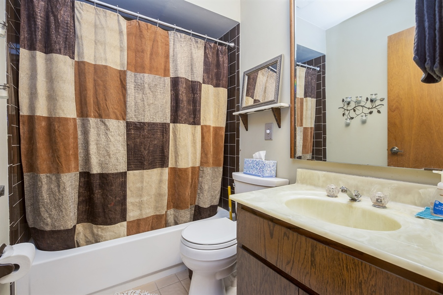 Real Estate Photography - 0S487 East Street, Winfield, IL, 60190 - Bathroom