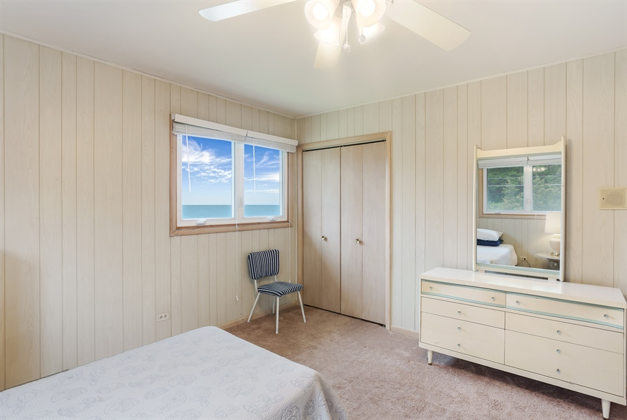Real Estate Photography - 3040 Lake Shore Drive, Long Beach, IN, 46360 - 2nd Bedroom