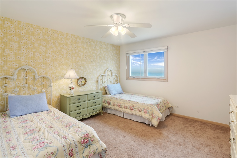 Real Estate Photography - 3040 Lake Shore Drive, Long Beach, IN, 46360 - 3rd Bedroom