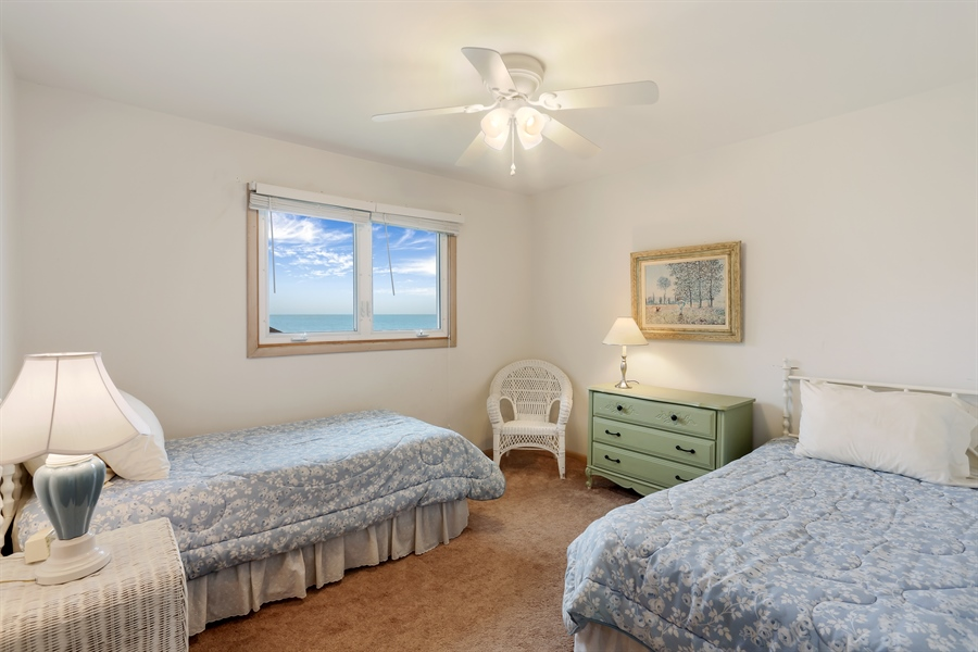 Real Estate Photography - 3040 Lake Shore Drive, Long Beach, IN, 46360 - 4th Bedroom